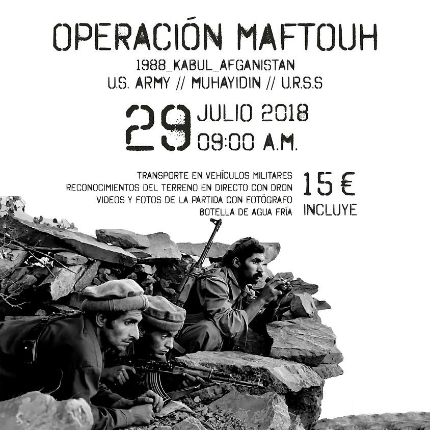 OPERACIÓN MAFTOUH