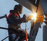 Монтаж металлоконструкций сварные работы