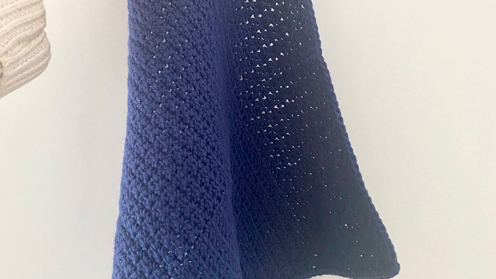 100% Pure Cotton Body Cloth - French Navy