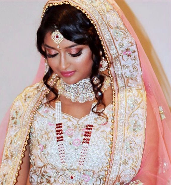 Ethnic Bridal hair and makeup