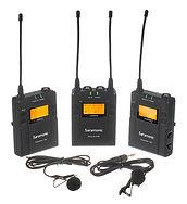 Drahtloses Lavalier-Mikrofonsystem Saram