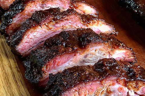 Cherry Chipotle Baby Backs - order by the rack, please