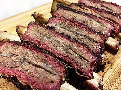 Dinosaur Beef Ribs - approx. 2 lbs. each pre-smoked weight