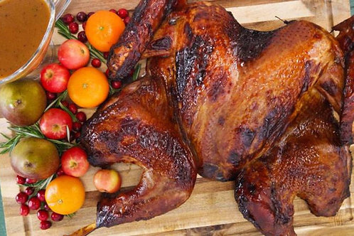 Smoked (spatch-cocked) Turkey