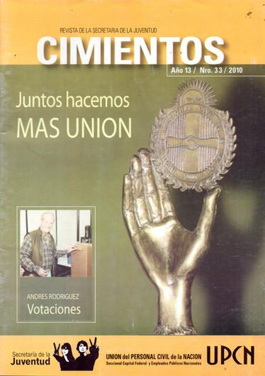 Revista Cimientos- UPCN - 2010 - Parte 1