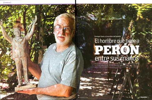 Diario El Guardián – Monumento a Perón – 09 de Febrero de 2012 - Parte 1