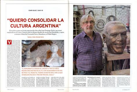 Diario El Federal – Monumento a Perón – 06 de Enero de 2011 - Parte 1