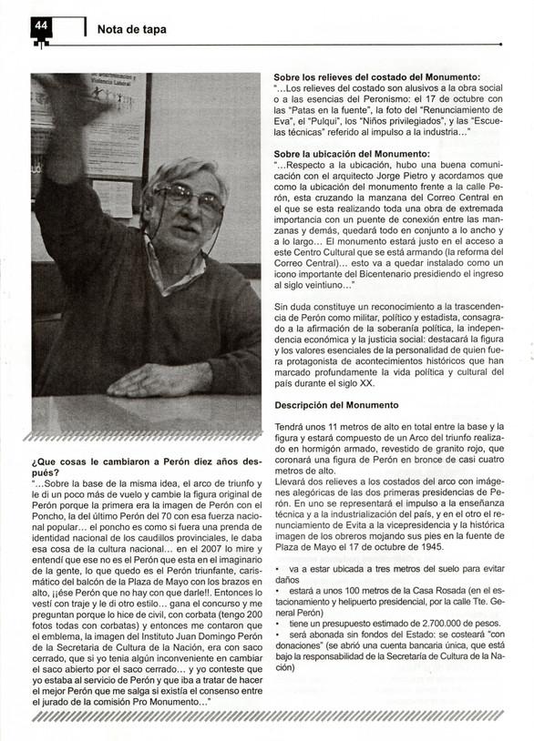 Revista Cimientos- UPCN - 2010 - Parte 3