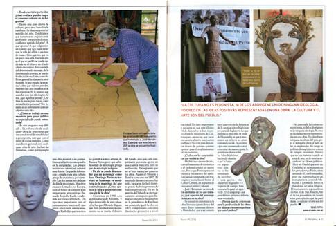 Diario El Federal – Monumento a Perón – 06 de Enero de 2011 - Parte 2