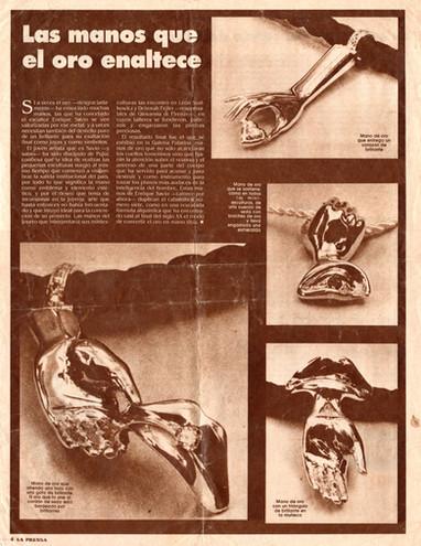 Diario La Prensa - Manos – Marzo de 1994