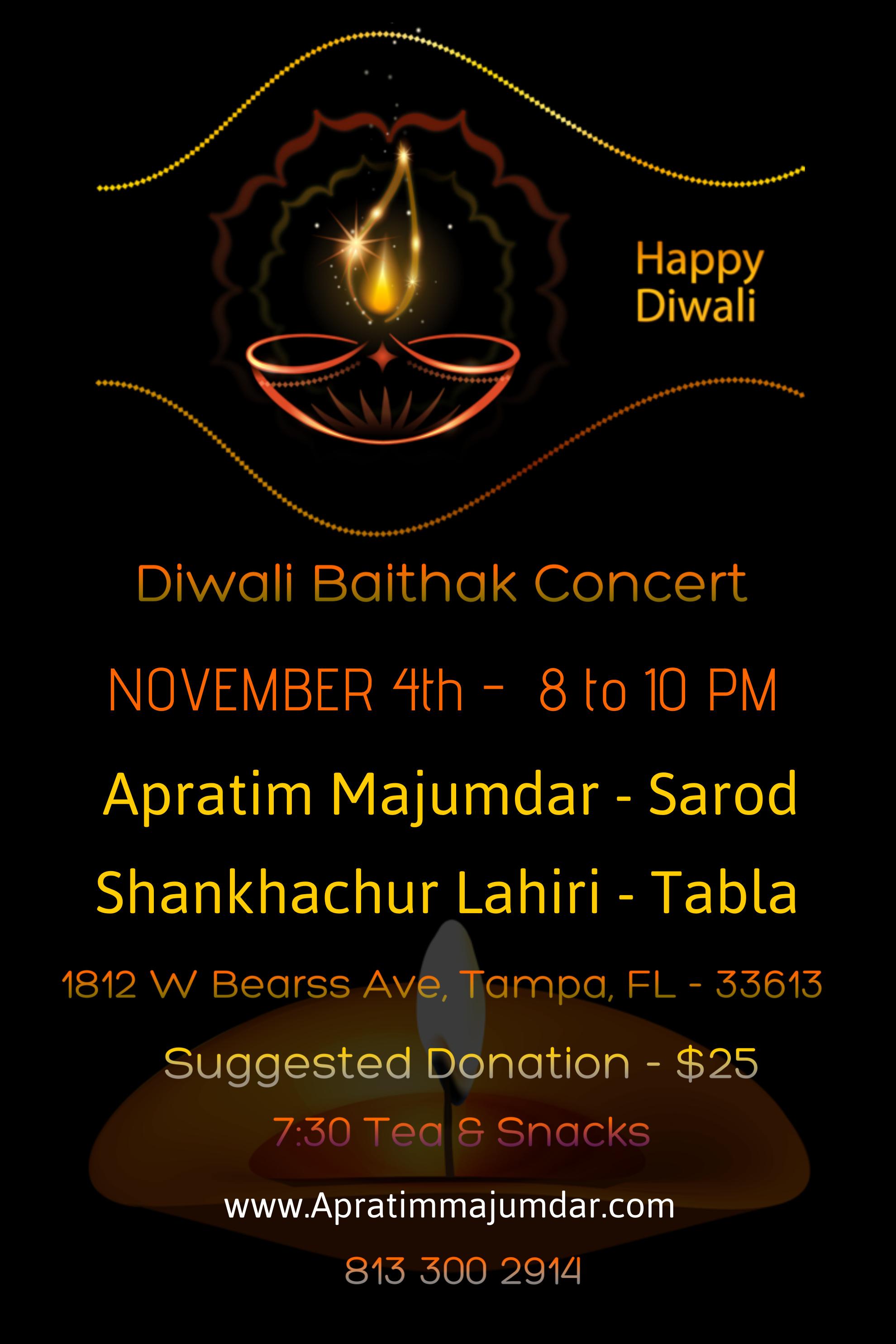 Diwali Baithak Concert