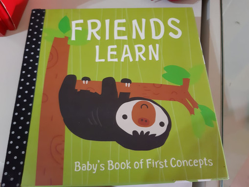 Friends learn: Baby´s book of first concepts