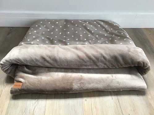 Taupe Spot Snuggle Sack