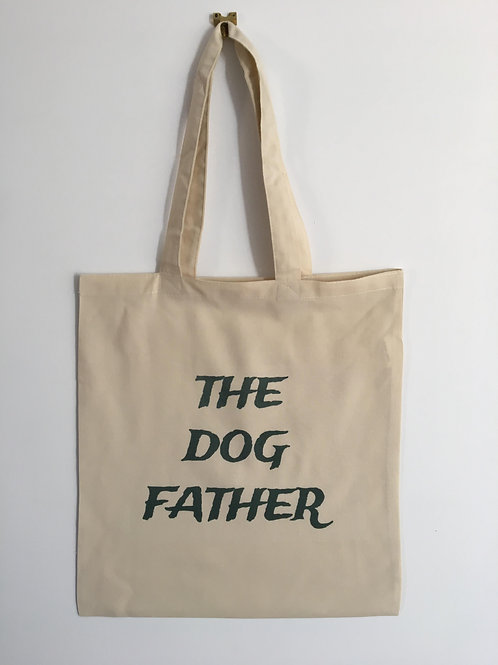 The dog father tote bag