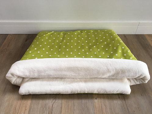 Green Spot Snuggle Sack