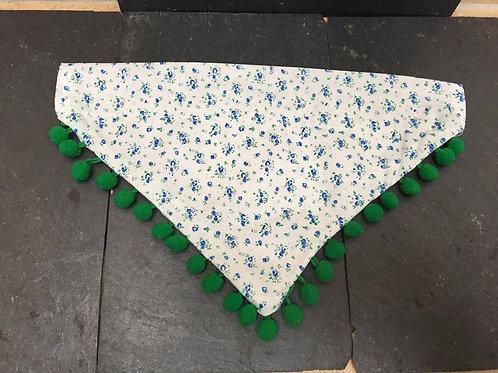 Floral bobble bandana