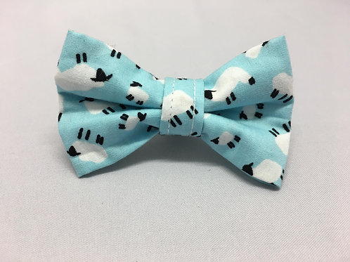 Bo Peep Blue Bow Tie