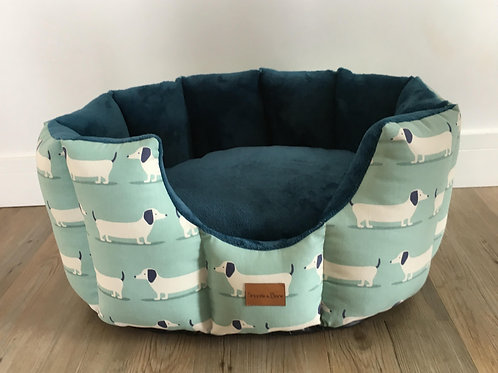 Blue Daxi Cave Bed