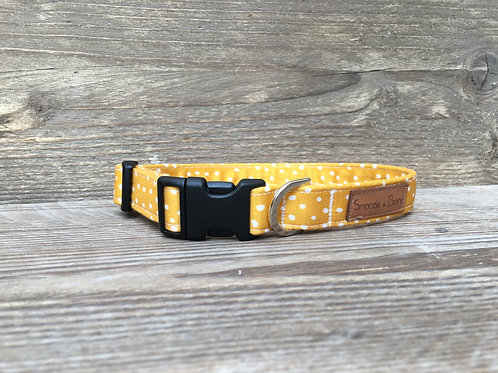 Mustard Dotty Collar