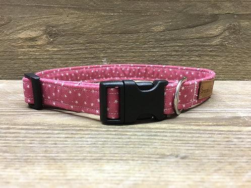 Medium Pink Star Collar