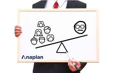 Balancing an Anaplan Ragged Hierarchy