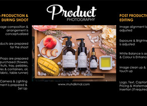 Find Out The Work That Goes Into Your Product Photography Image