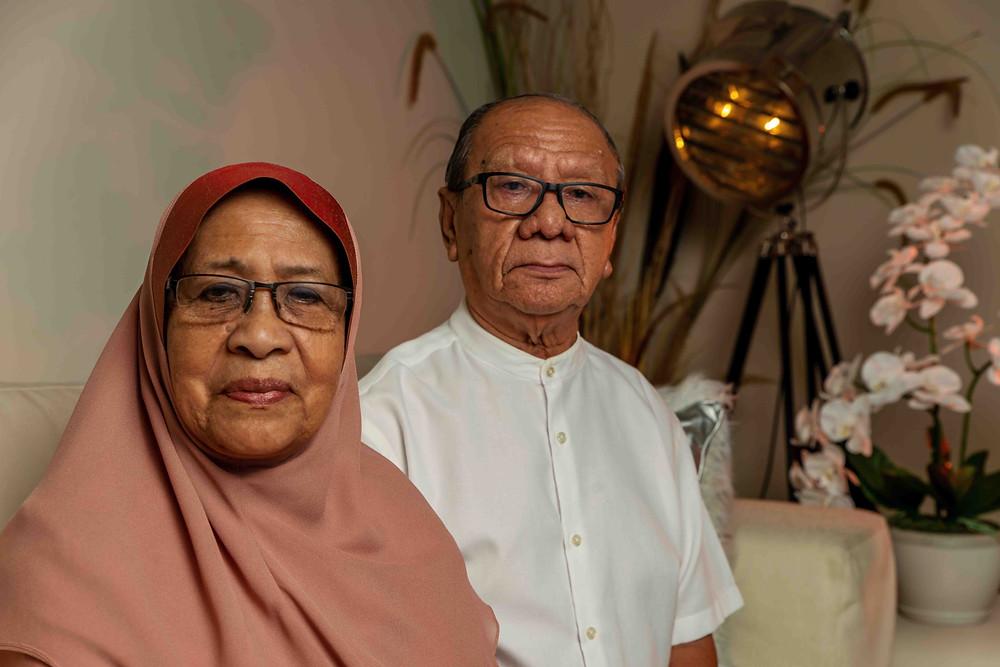 Family Portrait of parents