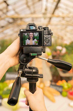 using-camera-on-monopod-to-shoot-video-J