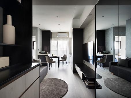 首重機能的簡約兩房宅│新北新店 室內設計 揚楊設計
