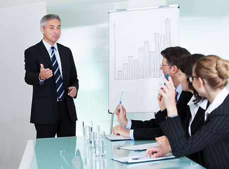 Manager or senior business executive sta