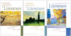 Norton Intro to Literature trio