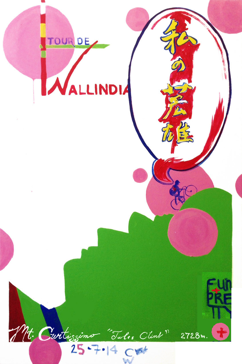Tour De WALLINDIA Painting
