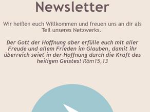 Unser erster Newsletter...