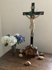 Kreuz im Gebetsraum