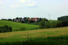 Weiler Hohensall aus der Ferne