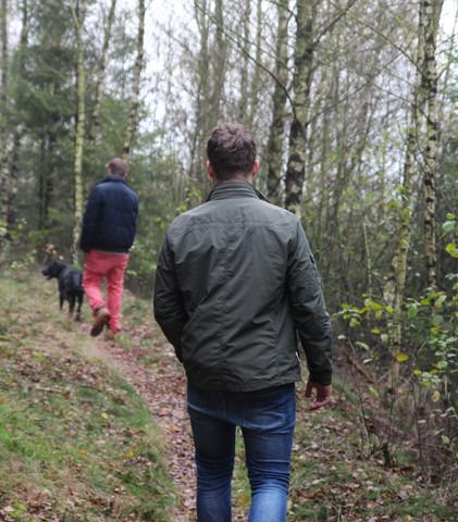 Spazieren gehen in der Natur