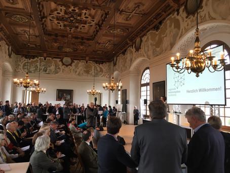 Deym Immobilien mit Messestand auf Regionaler Wohnungsbau Konferenz 2019 in Dachau