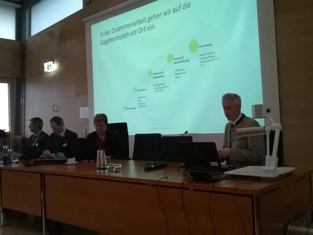 Deym Immobilien auf der Informationsveranstaltung des Landkreises Weilheim-Schongau