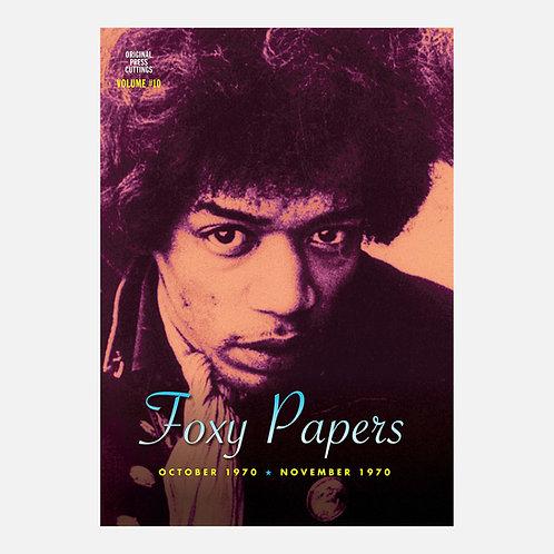 Foxy Papers vol. 10 October - November 1970