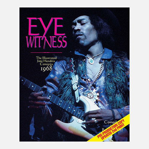 Eyewitness 1968 – The Illustrated Jimi Hendrix Concerts