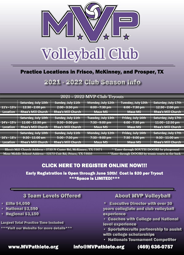 MVP Volleyball Club Tryout Information.j