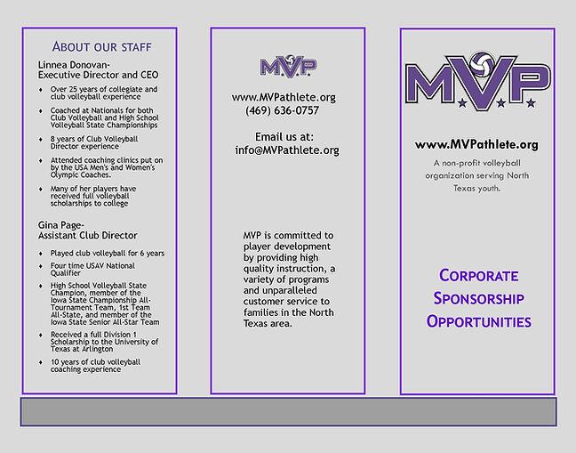 Sponsorship Brochure Page 1
