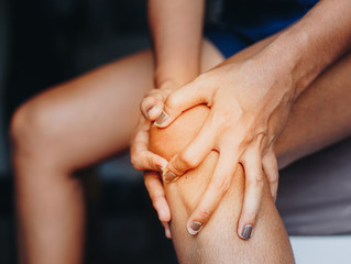Growing pains in the knee