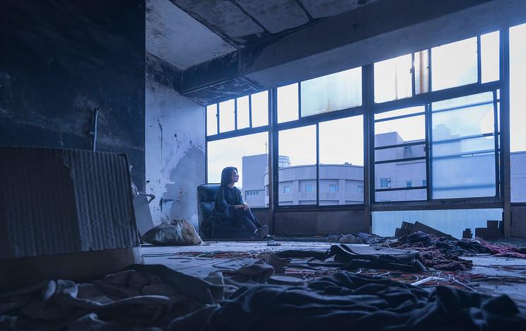 【Journey】桃園廢墟 | 藍是對你的思念