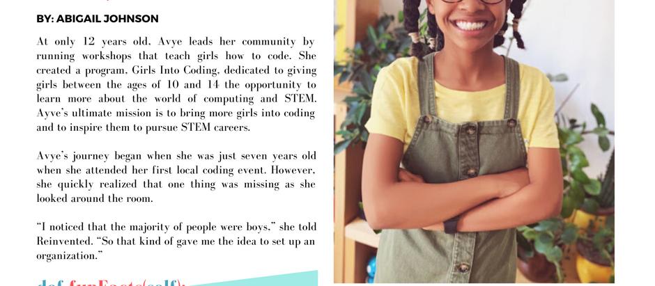 Avye: The Girl Who Codes