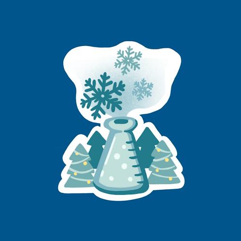 The Winter Experiment Sticker