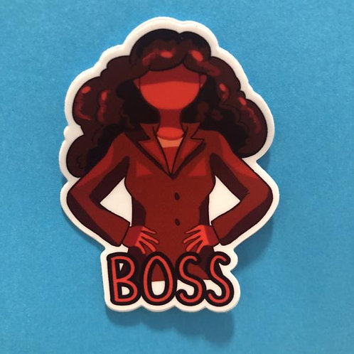 Boss Sticker