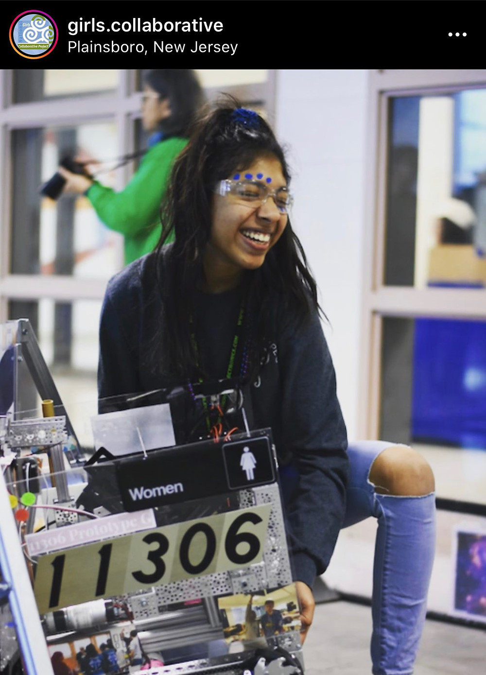 Meet Girls Advisory Board member, Shreya! On our @Girls.Collaborative IG feed, we frequently post membership spotlights with personalized STEM resource recommendations from each featured member.