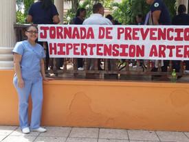 Trinidad School of Nursing's Hypertension Awareness Day!
