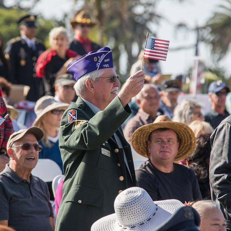 Veteran's Day at The Santa Barbara Cemetery